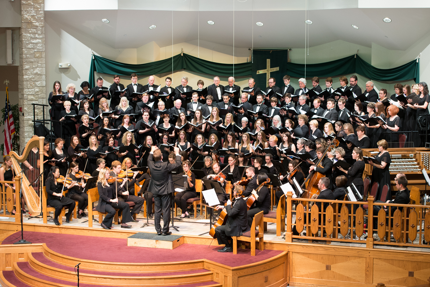 Round Rock Community Choir in concert